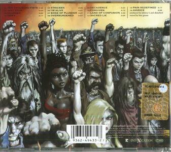 Ten Thousand Fists - CD Audio di Disturbed - 2