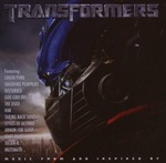 Cover CD Colonna sonora Transformers