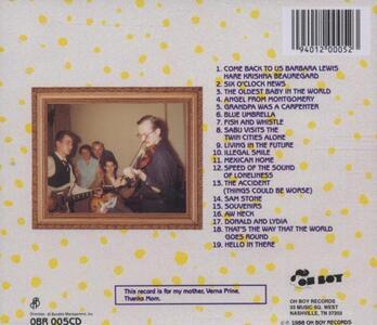 Live - CD Audio di John Prine - 2