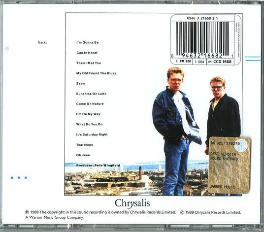 Sunshine on Leith - CD Audio di Proclaimers - 2