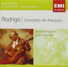 Rodrigo Concierto de - CD Audio di Joaquin Rodrigo,Angel Romero