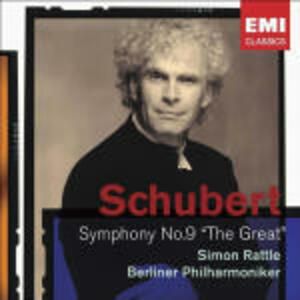 Sinfonia n.9 - CD Audio di Franz Schubert,Berliner Philharmoniker,Simon Rattle
