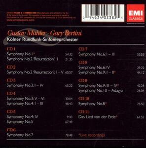 Sinfonie Complete - CD Audio di Gustav Mahler - 2