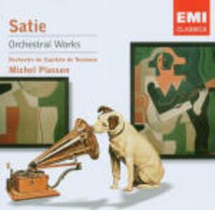 GymnopÚdies - Gnosiennes (Orch. Debussy) - CD Audio di Erik Satie,Michel Plasson