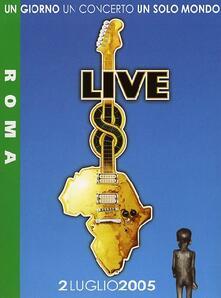Live 8. Roma (DVD) - DVD di Cesare Cremonini,Jovanotti,Negrita,Zucchero