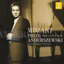 Concerti per pianoforte n.7, n.20 - CD Audio di Wolfgang Amadeus Mozart,Piotr Anderszewski,Scottish Chamber Orchestra