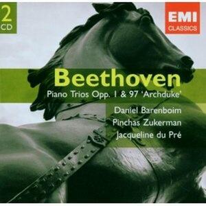 Trii con pianoforte op..1, op.97 - CD Audio di Ludwig van Beethoven,Jacqueline du Pré,Daniel Barenboim,Pinchas Zukerman