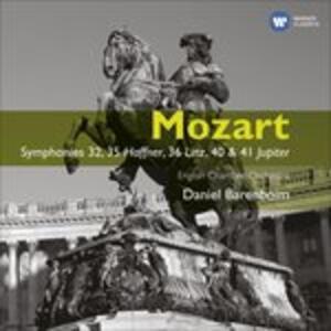 Sinfonie n.32, n.35, n.36, n.40, n.41 - CD Audio di Wolfgang Amadeus Mozart,Daniel Barenboim