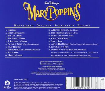 Mary Poppins (Colonna Sonora) - CD Audio - 2