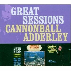 Great Sessions - CD Audio di Julian Cannonball Adderley