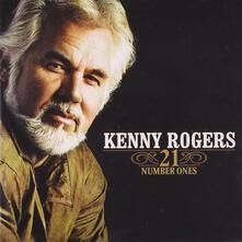 21 Number Ones - CD Audio di Kenny Rogers