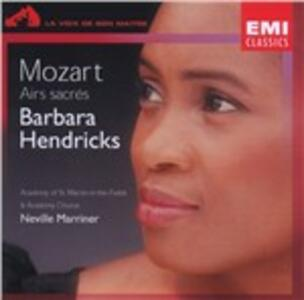 Airs Sacres - CD Audio di Wolfgang Amadeus Mozart