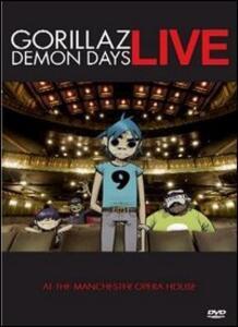 Gorillaz. Demon Days Live - DVD