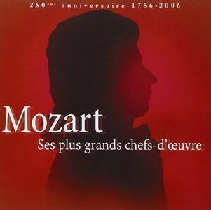 Ses Plus Grands Chefs - CD Audio di Wolfgang Amadeus Mozart