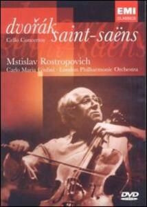 Anton Dvorak, Camille Saint-Saëns. Cello Concerto di Hugo Kach - DVD