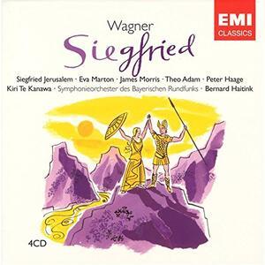 Sigfrido (Siegfried) - CD Audio di Richard Wagner,Bernard Haitink,Kiri Te Kanawa,Eva Marton,Theo Adam,Siegfried Jerusalem,Orchestra Sinfonica della Radio Bavarese