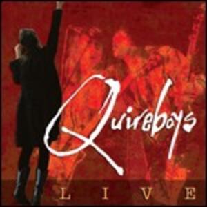 Live - CD Audio di Quireboys
