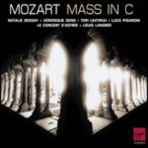 Messa K427 - CD Audio di Wolfgang Amadeus Mozart,Natalie Dessay,Veronique Gens,Le Concert d'Astrée,Louis Langrée