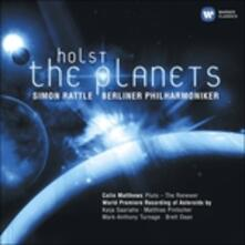 Planets - Asteroids - CD Audio di Gustav Holst
