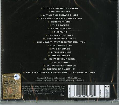 Lezioni di Piano (The Piano) (Colonna sonora) (Remastered) - CD Audio di Michael Nyman - 2