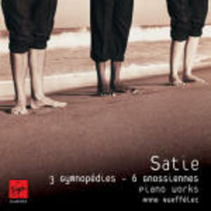 3 Gymnopédies - 6 Gnossiennes - CD Audio di Erik Satie,Anne Queffélec