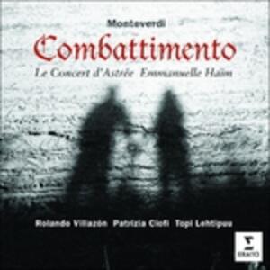 Combattimento - CD Audio di Claudio Monteverdi