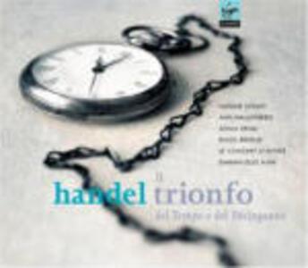 Il trionfo del Tempo e del Disinganno - CD Audio di Natalie Dessay,Ann Hellenberg,Sonia Prina,Pavol Breslik,Emmanuelle Haim,Georg Friedrich Händel,Le Concert d'Astrée