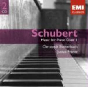 Duetti per pianoforte vol.1 - CD Audio di Franz Schubert,Christoph Eschenbach,Justus Frantz