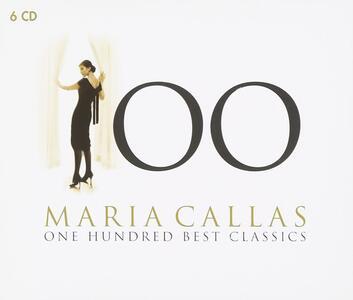 100. One Hundred Best Classics - CD Audio di Maria Callas