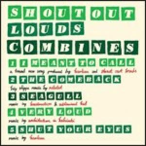 Combines - CD Audio di Shout Out Louds