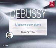 Musica completa per pianoforte - CD Audio di Claude Debussy,Aldo Ciccolini