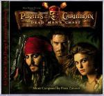 Cover CD Colonna sonora Pirati dei Caraibi - La maledizione del forziere fantasma