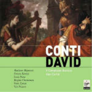 David - CD Audio di Alan Curtis,Complesso Barocco,Simone Kermes,Marijana Mijanovic,Francesco Bartolomeo Conti