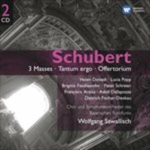 3 Masses - Tantum Ergo - CD Audio di Franz Schubert