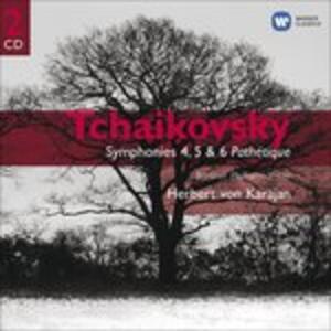 Sinfonie n.4, n.5, n.6 - CD Audio di Pyotr Il'yich Tchaikovsky