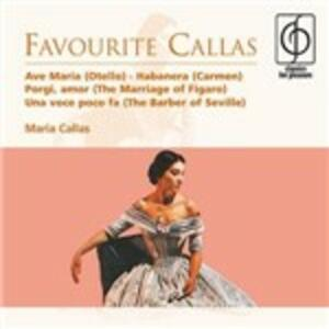 Favourite Callas - CD Audio di Maria Callas