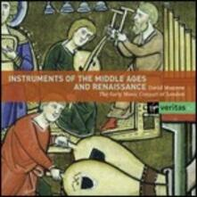 Instruments of Middle Age and Renaissance - CD Audio di David Munrow,Early Music Consort of London