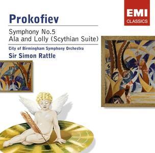 Sinfonia n.5 - CD Audio di Sergej Sergeevic Prokofiev,Simon Rattle