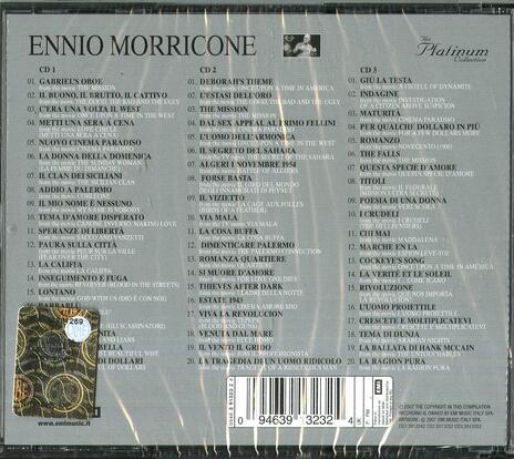 Platinum Collection (Colonna sonora) - CD Audio di Ennio Morricone - 2