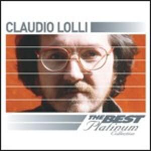The Best of Platinum - CD Audio di Claudio Lolli