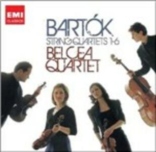 Quartetti per archi n.1, n.2, n.3, n.4, n.5, n.6 - CD Audio di Bela Bartok,Belcea Quartet