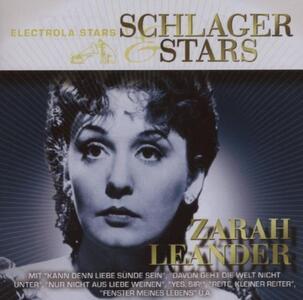Schlager & Stars - CD Audio di Zarah Leander