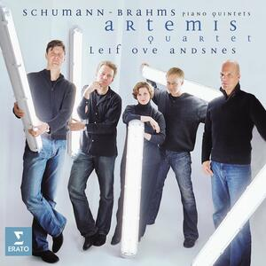 Quintetti con pianoforte - CD Audio di Johannes Brahms,Robert Schumann,Leif Ove Andsnes,Artemis Quartet