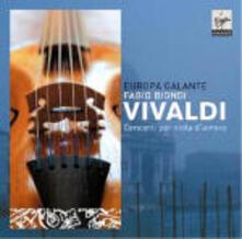 Concerti per viola d'amore - CD Audio di Antonio Vivaldi,Fabio Biondi,Europa Galante
