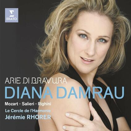 Arie di bravura - CD Audio di Wolfgang Amadeus Mozart,Antonio Salieri,Vincenzo Righini,Diana Damrau