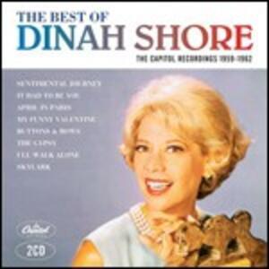 The Best of Capitol Recordings 1959-1962 - CD Audio di Dinah Shore