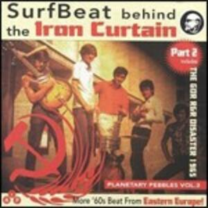 Planetary Pebbles vol.3. Surfbeat Behind the Iron Curtain part 2 - CD Audio