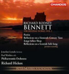 Musica orchestrale vol.1 - CD Audio di Richard Hickox,Philharmonia Orchestra,Richard Rodney Bennett