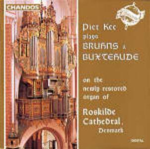 Musica per organo - CD Audio di Dietrich Buxtehude,Nikolaus Bruhns,Piet Kee