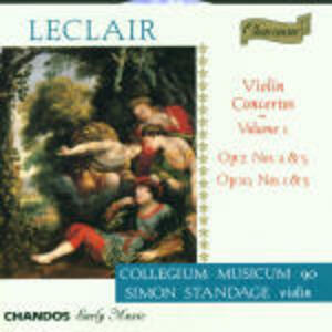 Concerti per violino vol.1 - CD Audio di Jean-Marie Leclair